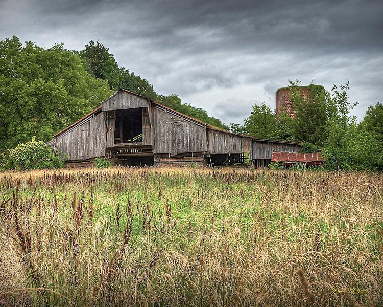 Barn And Fallow Field